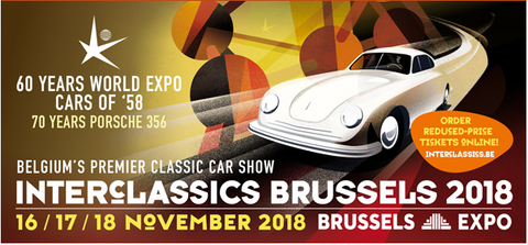 Banner Interclassics Brussels 2018