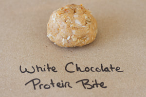 White Chocolate Protein Bite