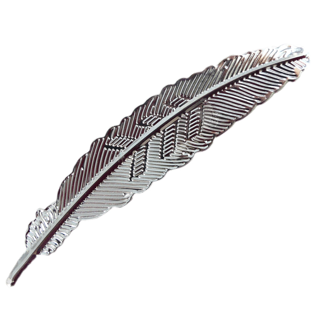 Feather Nail Art Display - Silver - My Little Nail Art Shop