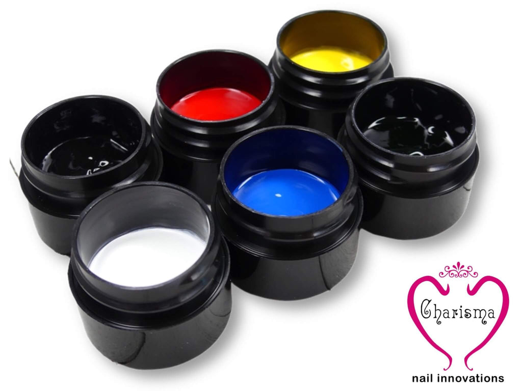 Gel Paints - Traditional Collection - My Little Nail Art Shop