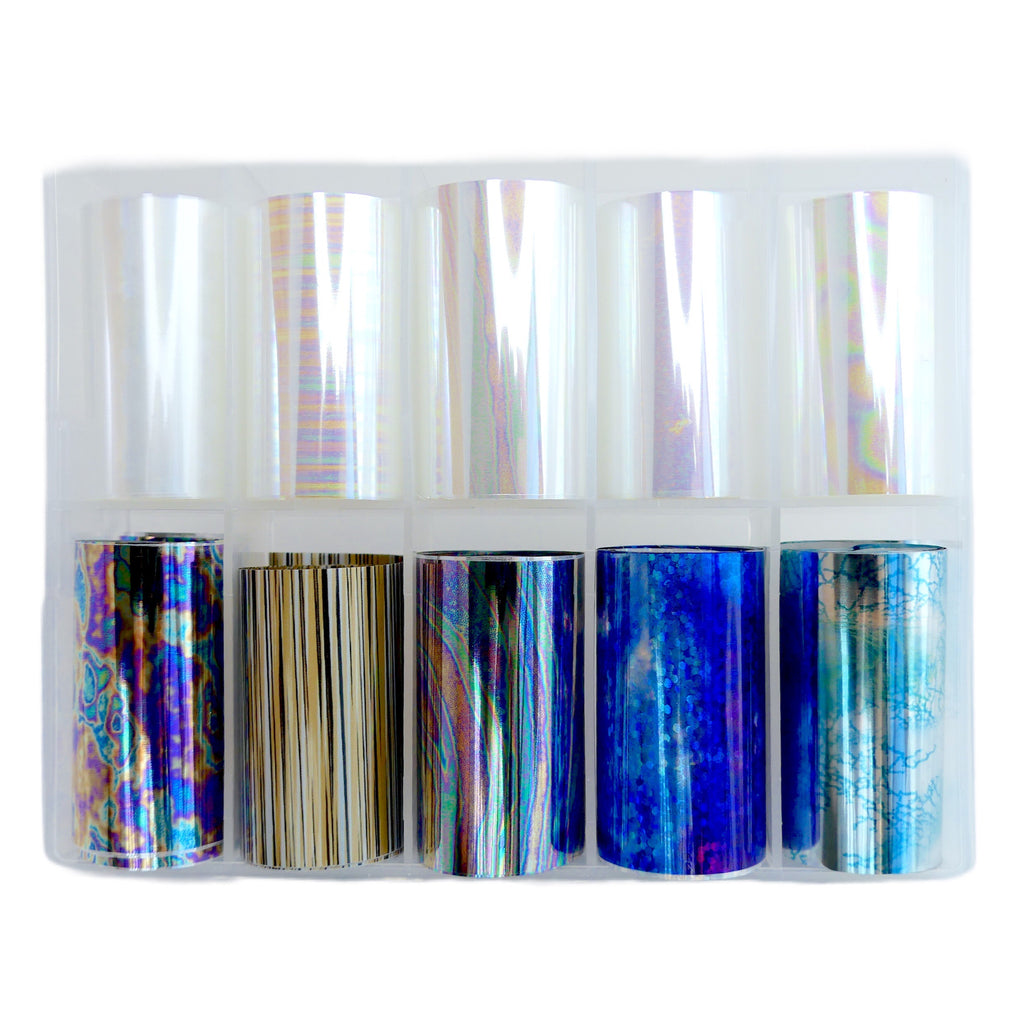 Transfer Foil - Box Set of 10 - My Little Nail Art Shop
