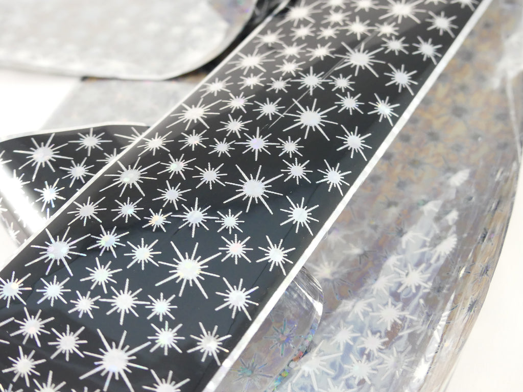 "Transfer Foil - Holographic Stars  (48"") - My Little Nail Art Shop"