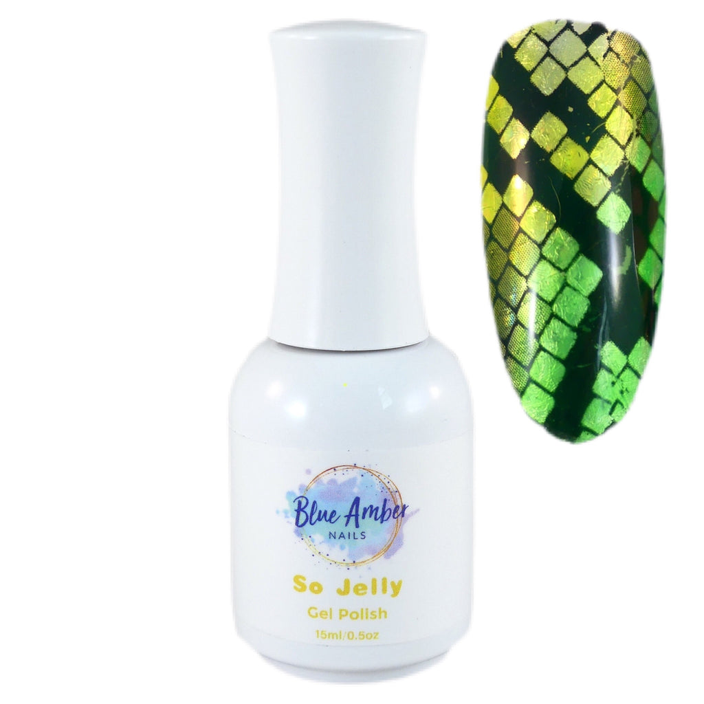So Jelly Gel Polish - Yellow - My Little Nail Art Shop