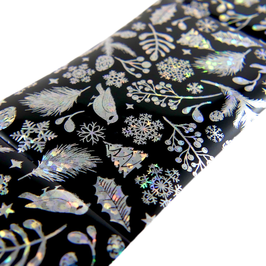 "Transfer Foil Winter (38"") - My Little Nail Art Shop"