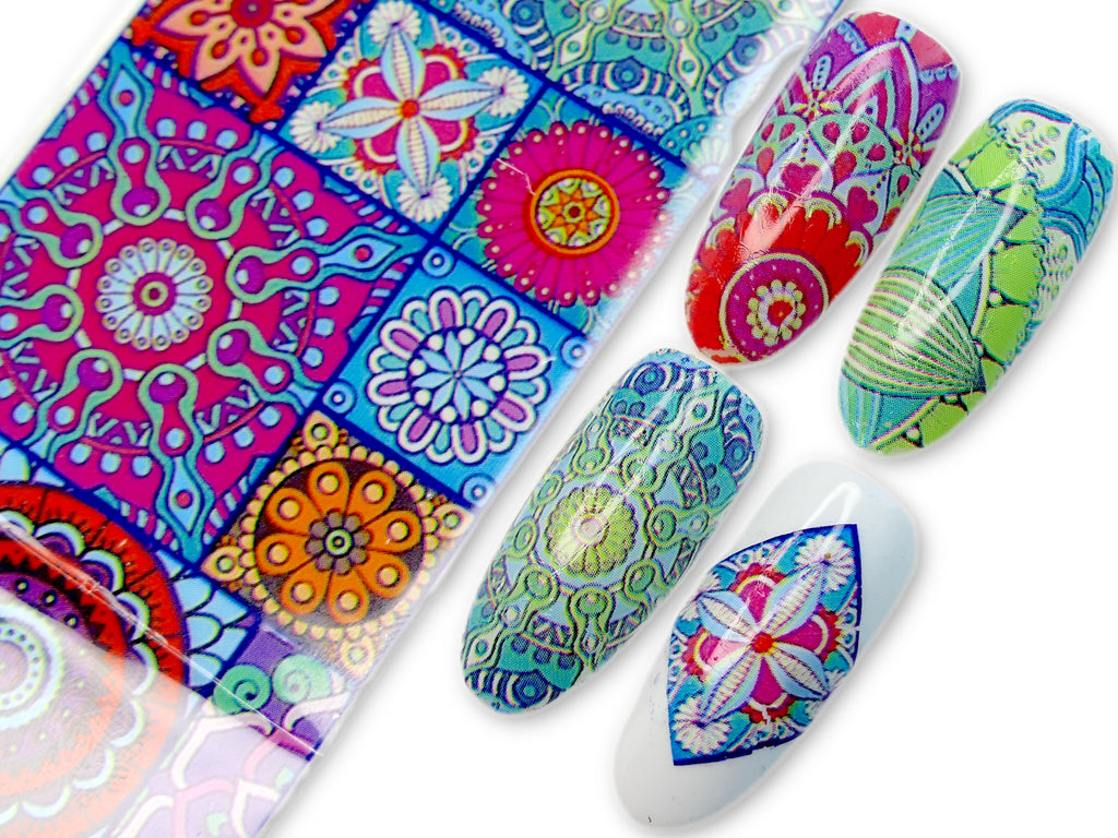"Transfer Foil - Mosaic  (39"") - My Little Nail Art Shop"