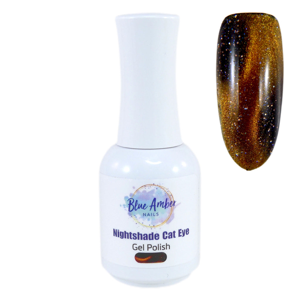 Cat Eye Gel Polish - Golden Bronze - My Little Nail Art Shop