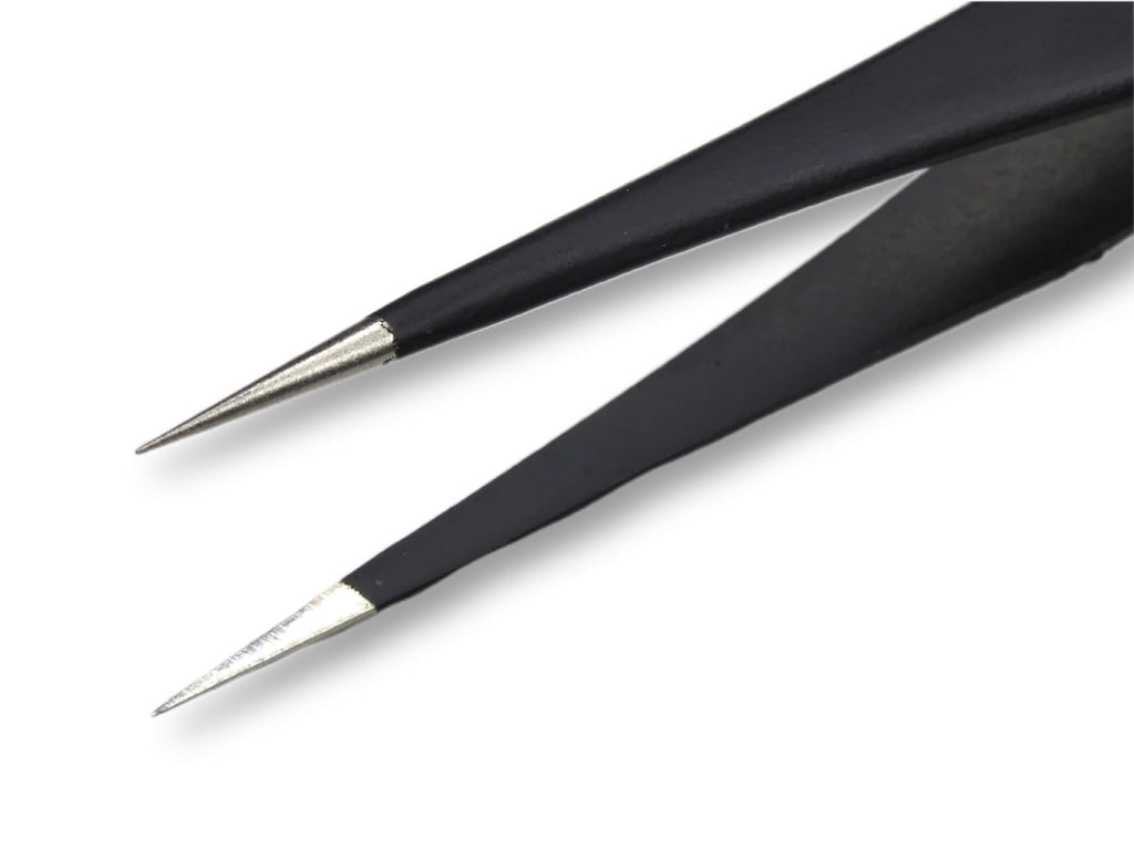 Pointy Nail Art Tweezer ( Black ) - My Little Nail Art Shop