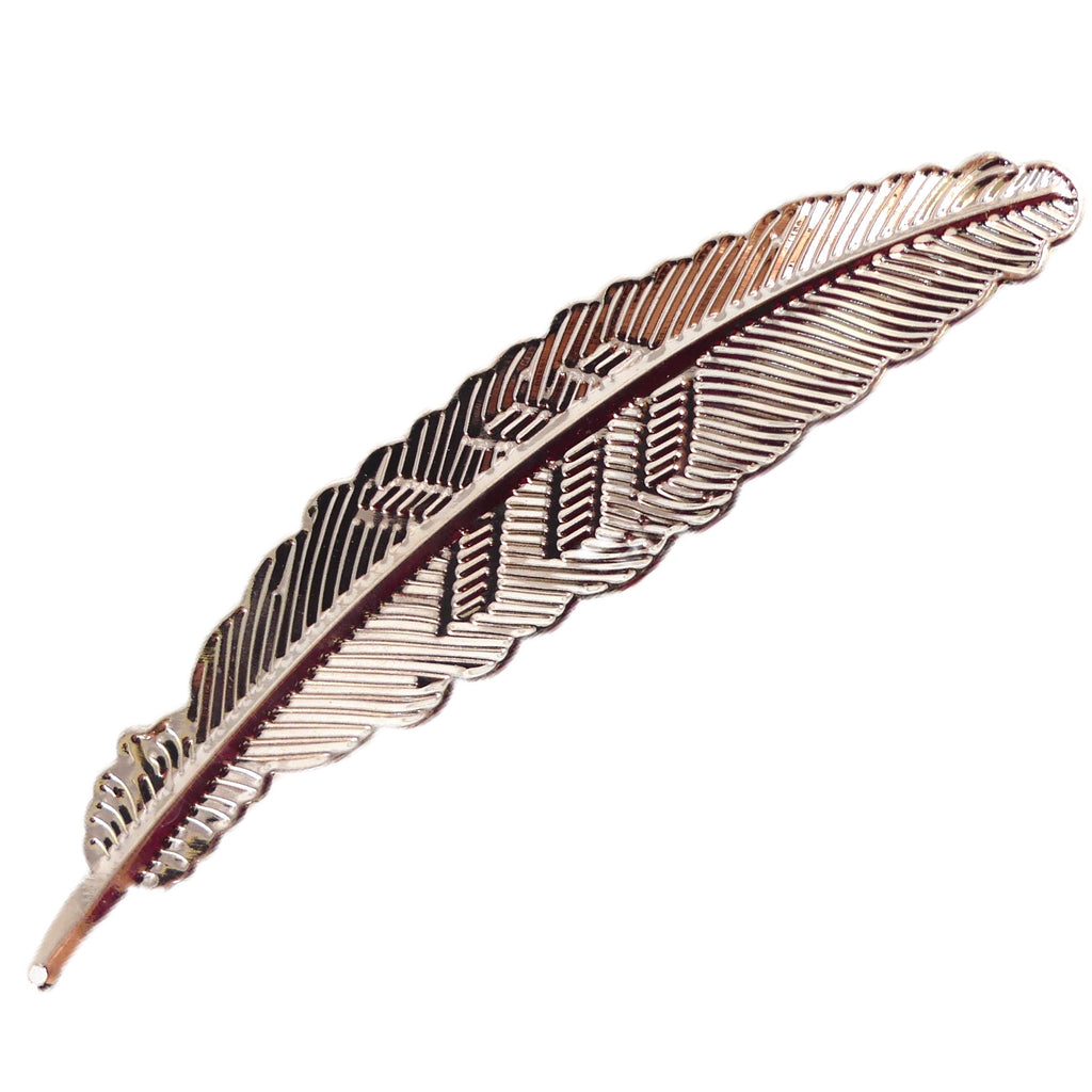 Feather Nail Art Display - Rose Gold - My Little Nail Art Shop