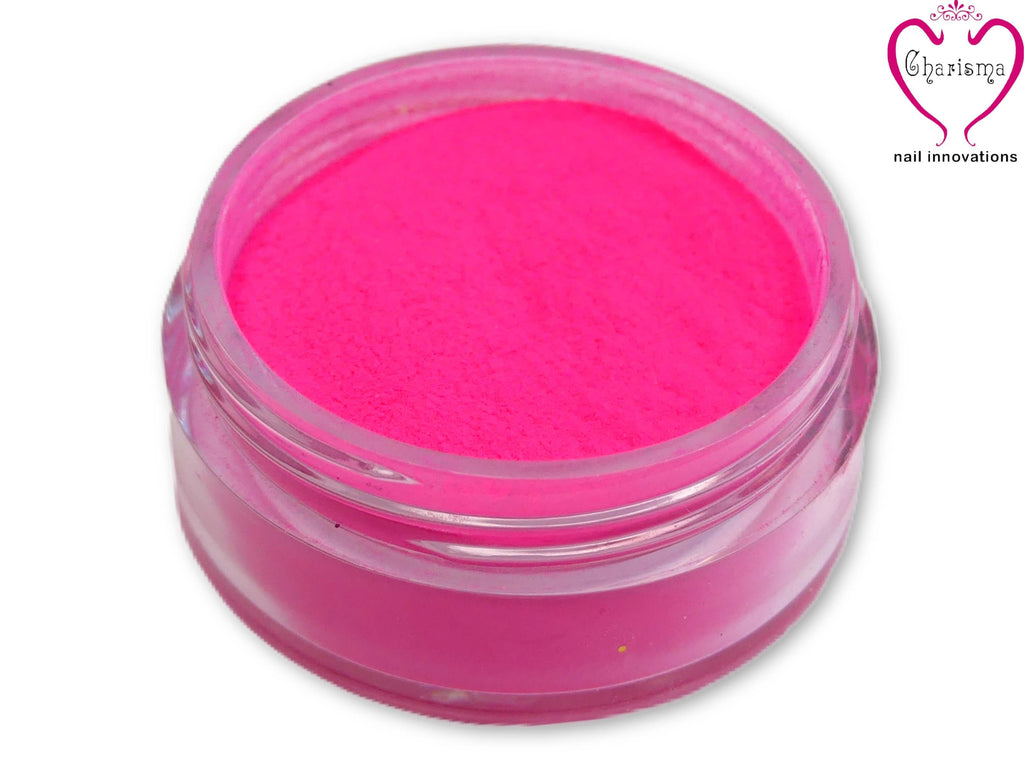Charisma Nail Acrylic Powder - Neon Pink - My Little Nail Art Shop