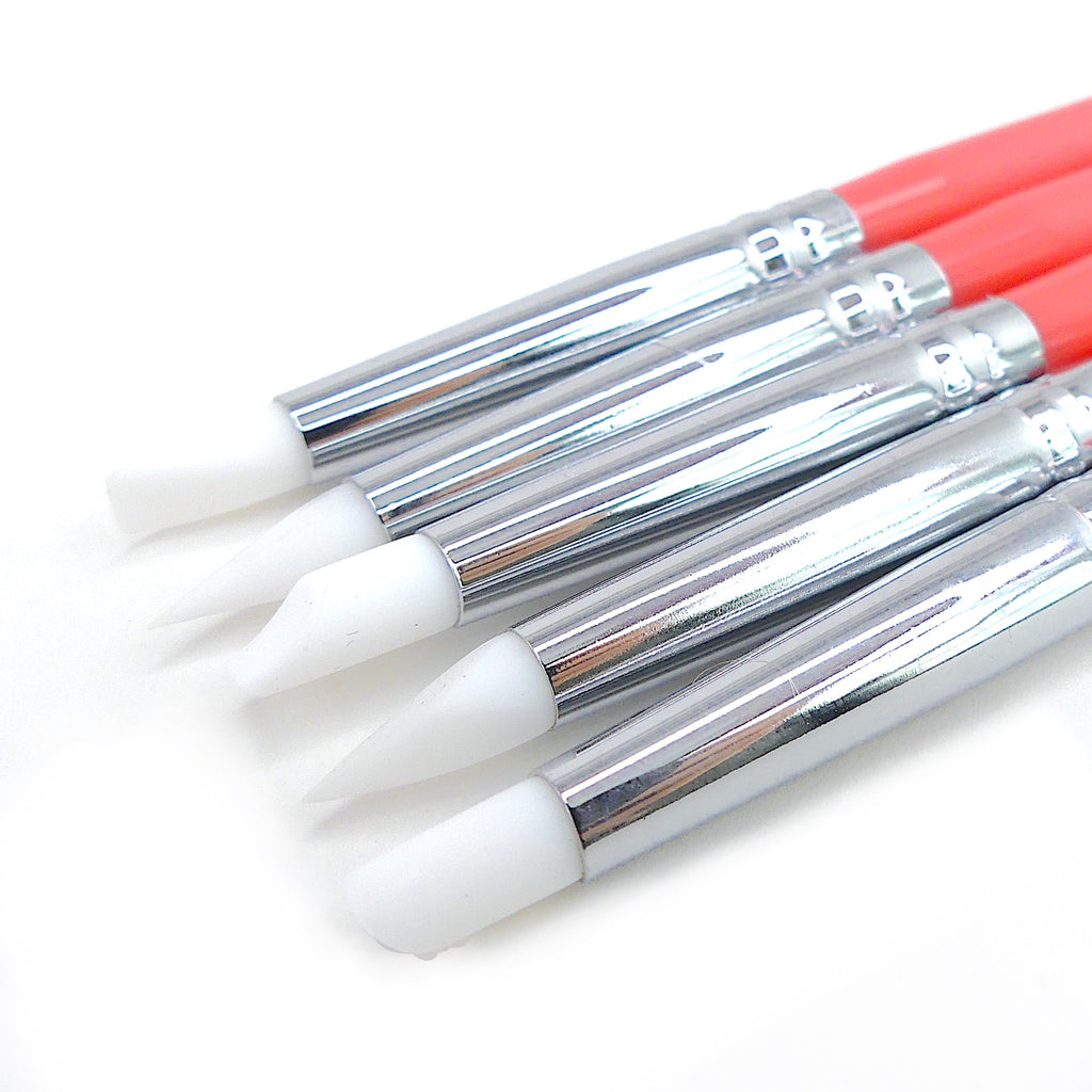 Silicon / Dotting Tools - Set of 5 - My Little Nail Art Shop
