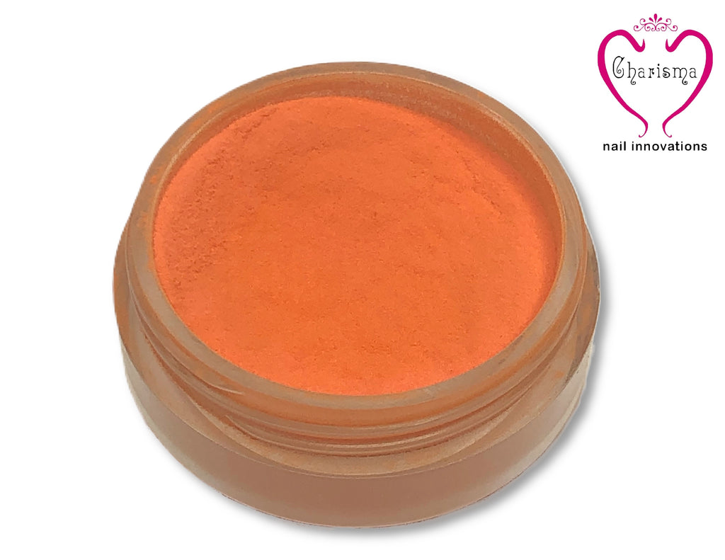 Charisma Nail Acrylic Powder - Orange - My Little Nail Art Shop
