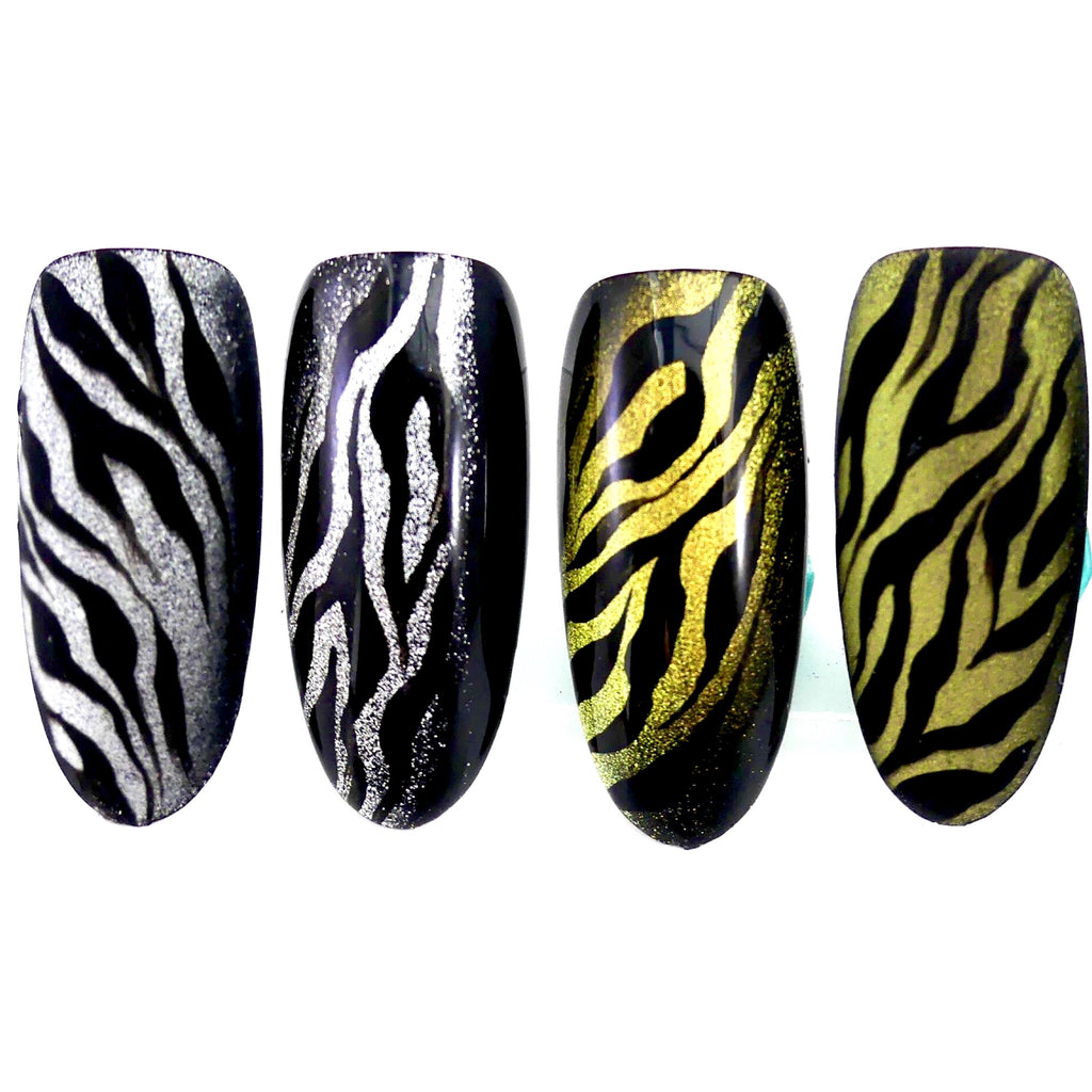 Gold'n Mercury Cat Eye Bundle - 2 Gel Polishes - My Little Nail Art Shop