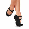 Sansha Split-Sole Canvas Ballet Slipper in Black (1C)
