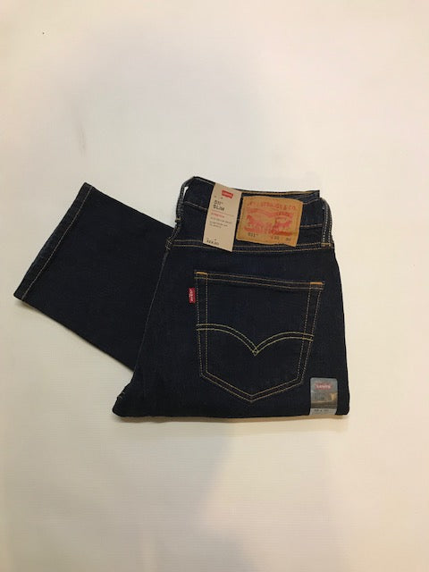Levi's 511 Slim Fit Rinsey Dark Jean