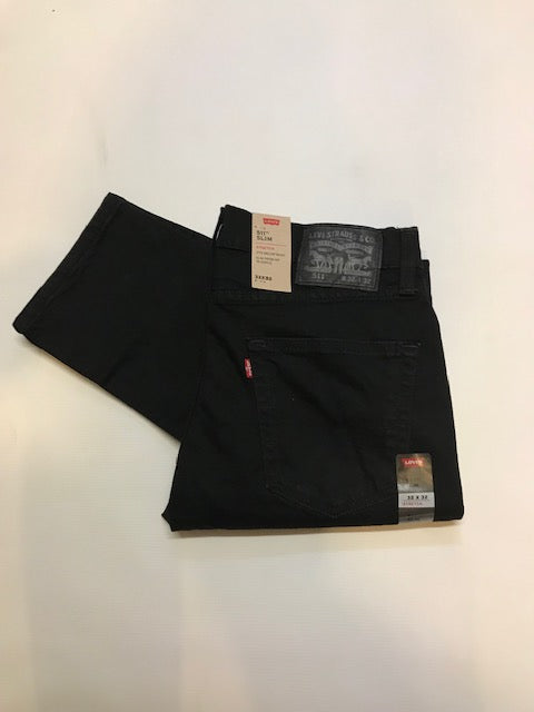 Levi's 511 Slim Fit Native Cali Black Jean