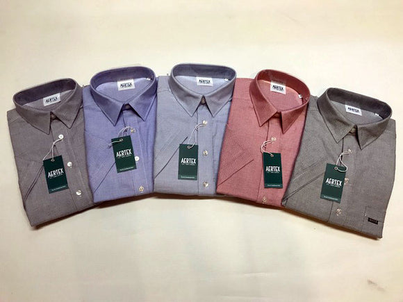 Aertex Pure Cotton Plain Birdseye Shirt