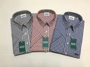 Aertex Pure Cotton Check Shirt