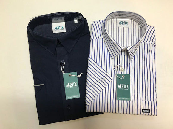 Aertex Cotton Blend Shirt