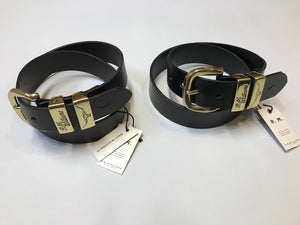 Belts – Solid Hide Gold Buckle
