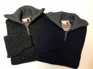 MKM 'Tasman' Zip Neck Knit