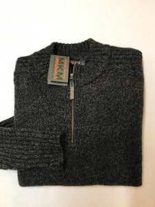 MKM 'Mount' Zip Neck Knit