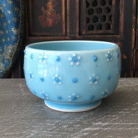 Cereal Bowl in Cherry Blossom Blue Celadon (#6)