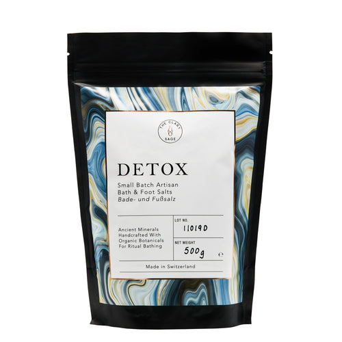 DETOX Bath & Foot Salts 500g Bag