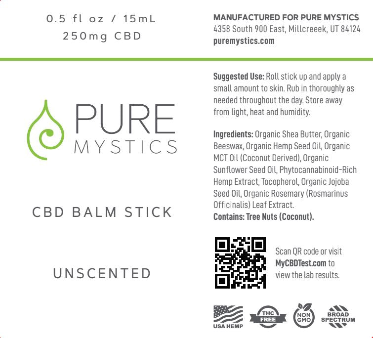 Pure Mystics Unscented CBD Topicals - puremystics