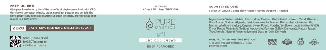 Hemp Oil Pet Treats - puremystics