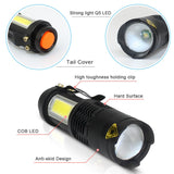 Waterproof  LED Flashlight