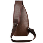 Diagonal shoulder bag