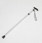 Aluminum trekking poles Folding telescopic four sticks hiking outdoor portable walking stick
