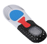 Sports insole breathable shock absorption thickening heel silicone mat