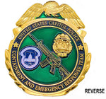 U.S. Capitol Police Containment and Emergency Response Team Challenge Coin