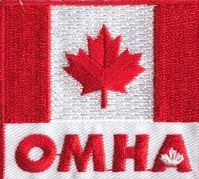 OMHA Canada Flag Jersey Patch