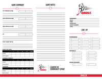 OMHA Game Cards (10 pack)