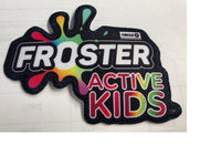 "Team Set - Froster Active Kids Jersey Patch (4""W x 3""H)"