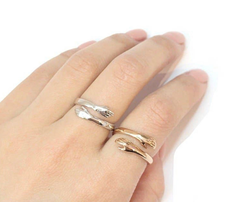 Open Hug Ring Adjustable