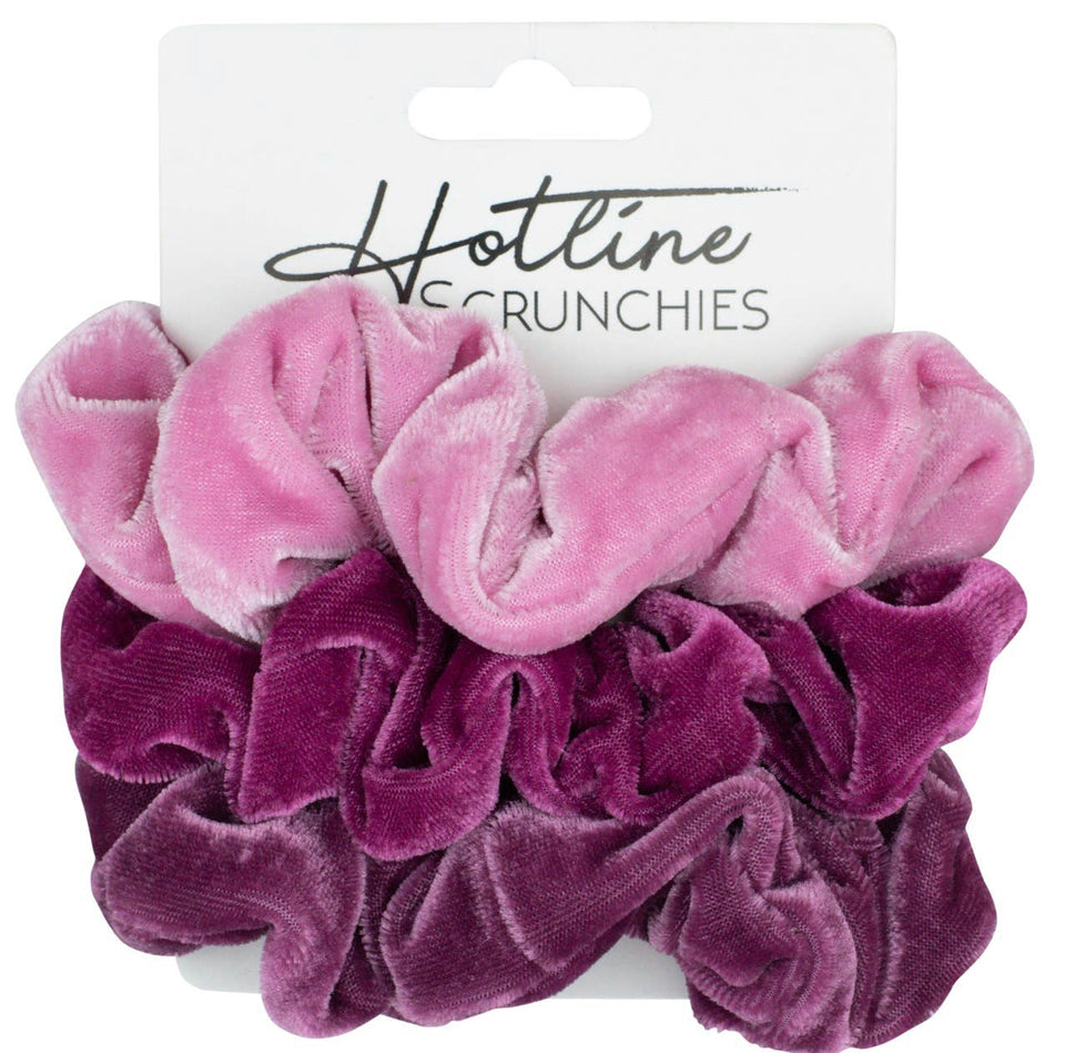 Bubblegum Scrunchie Set