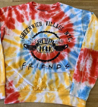 Friends Greenwhich Village Tie Dye Sweatshirt