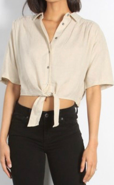 MR Khaki Mandy Top