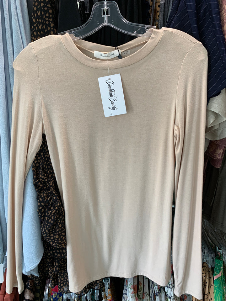 MU Taupe Long Sleeve Jersey