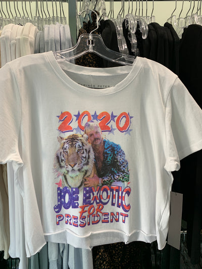 Joe Exotic for President Crop