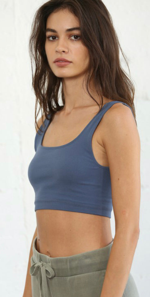 Steel Blue Cami