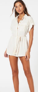 MinkPink Rosana Stripe Playsuit