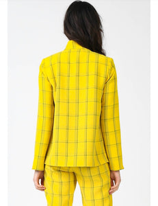 Cher Yellow Blazer (matching suit pants also available)