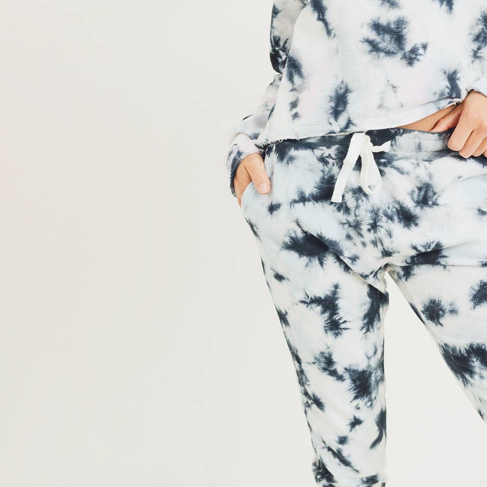 Tie-Dye Drawstring Sweatpants