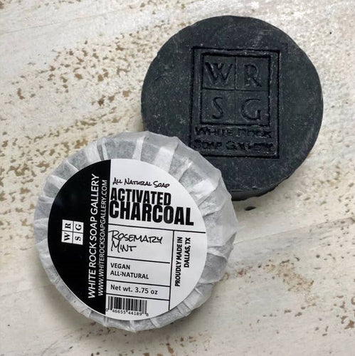 Activated Charcoal Rosemary Mint Soap