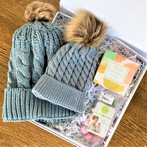 Mommy & Me Baby Gray Winter Box