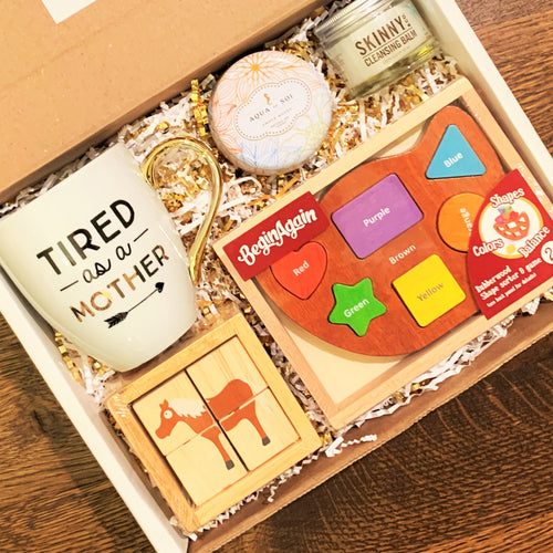 Mommy & Me Toddler Puzzle Box